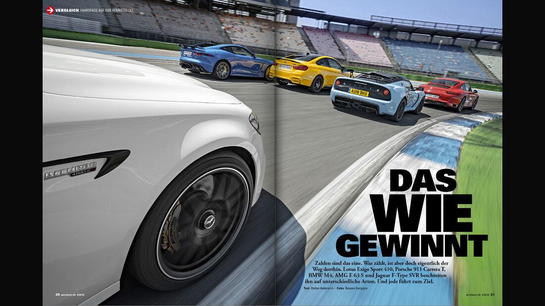 sport auto 9/2018 - Heftvorschau - Screenshot