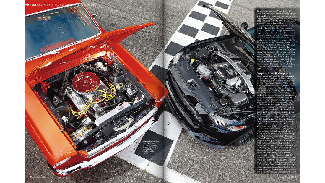 sport auto - Ausgabe 03/15 - Ford Mustang GT Fastback - Ford Mustang Hardtop Coupé 1965 - Screenshot