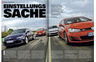 sport auto - Ausgabe 03/15 - Test - VW Golf - VW Scirocco - Screenshot