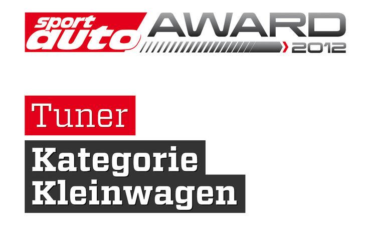 sport auto Award 2012 Tuner Kategorie Kleinwagen