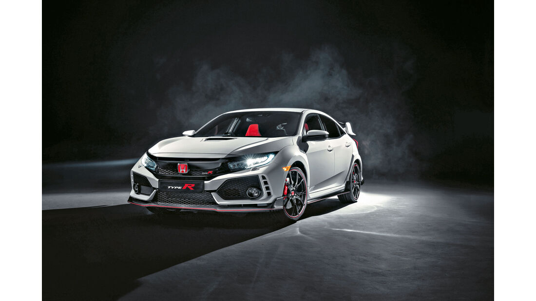 sport auto Award 2017 - B 017 - Honda Civic Type R