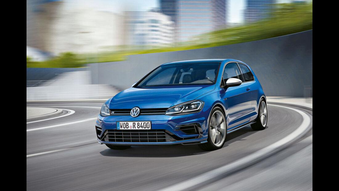 sport auto Award 2017 - B 025 - VW Golf R