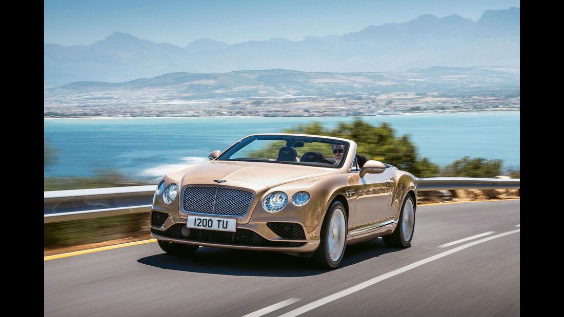 sport auto Award 2017 - K 100 - Bentley Continental GT Speed Cabrio