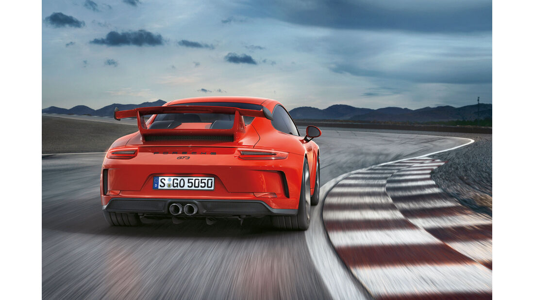 sport auto Award 2017 - O 151 - Porsche 911 GT3