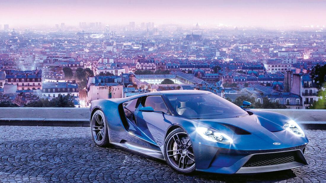 sport auto Award 2017 - P 155 - Ford GT