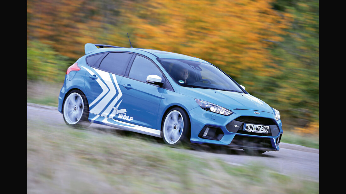 sport auto Award 2017 - R 172 - Wolf-Ford Focus RS