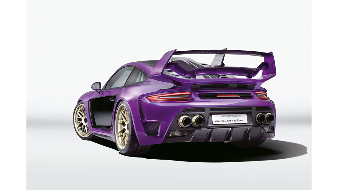 sport auto Award 2017 - Z 229 - Gemballa-Porsche Avalanche