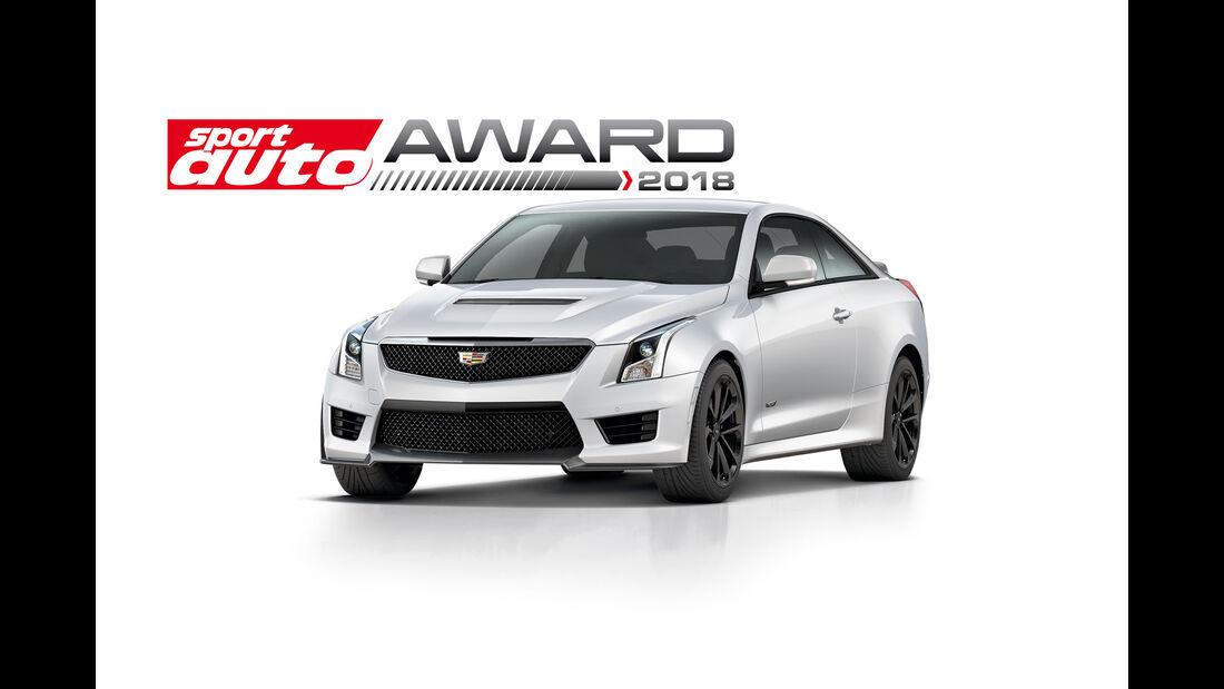 sport auto-Award 2018 - Leserwahl - Cadillac ATS-V Coupé