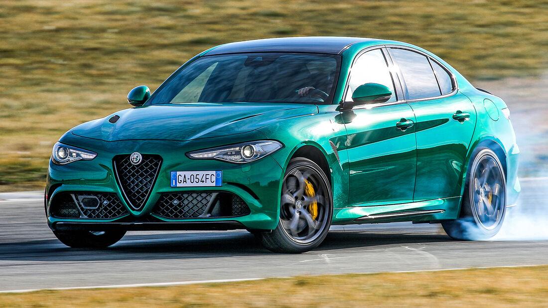 sport auto Award 2021, Alfa Romeo Giulia Quadrifoglio, Serie, Limousinen und Kombis bis 100.000 Euro