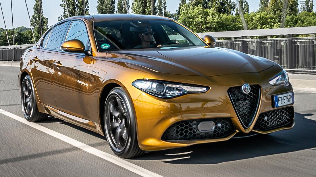sport auto Award 2021, Alfa Romeo Giulia Veloce, Serie, Limousinen und Kombis bis 75.000 Euro