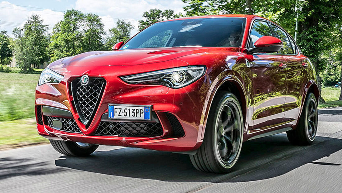 sport auto Award 2021, Alfa Romeo Stelvio Quadrifoglio, Serie, SUV