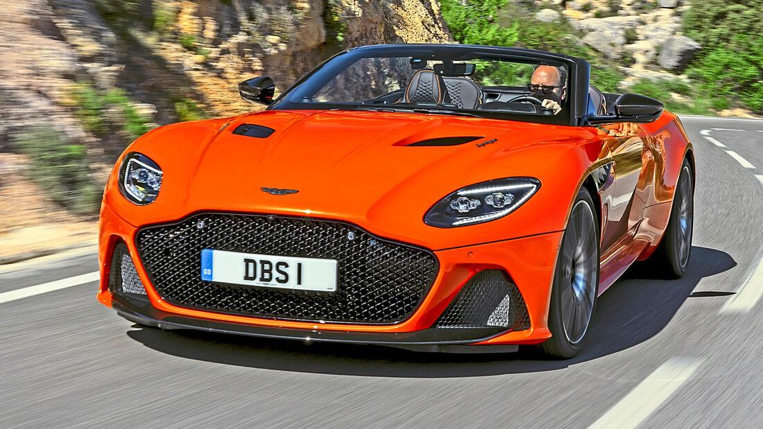 sport auto Award 2021, Aston Martin DBS Superleggera Volante, Serie, Cabrios und Roadster über 150.000 Euro