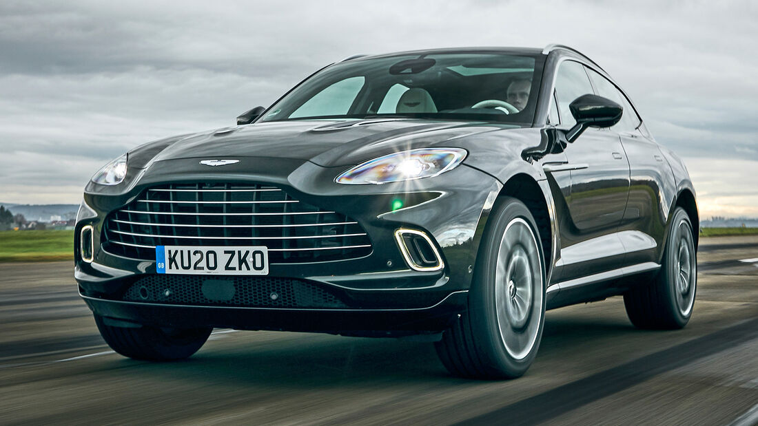 sport auto Award 2021, Aston Martin DBX, Serie, SUV
