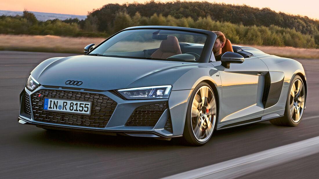 sport auto Award 2021, Audi R8 Spyder Performance, Serie, Cabrios und Roadster über 150.000 Euro