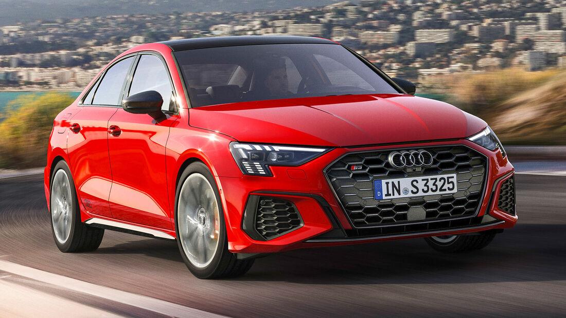sport auto Award 2021, Audi S3 Limousine, Serie, Limousinen und Kombis bis 75.000 Euro