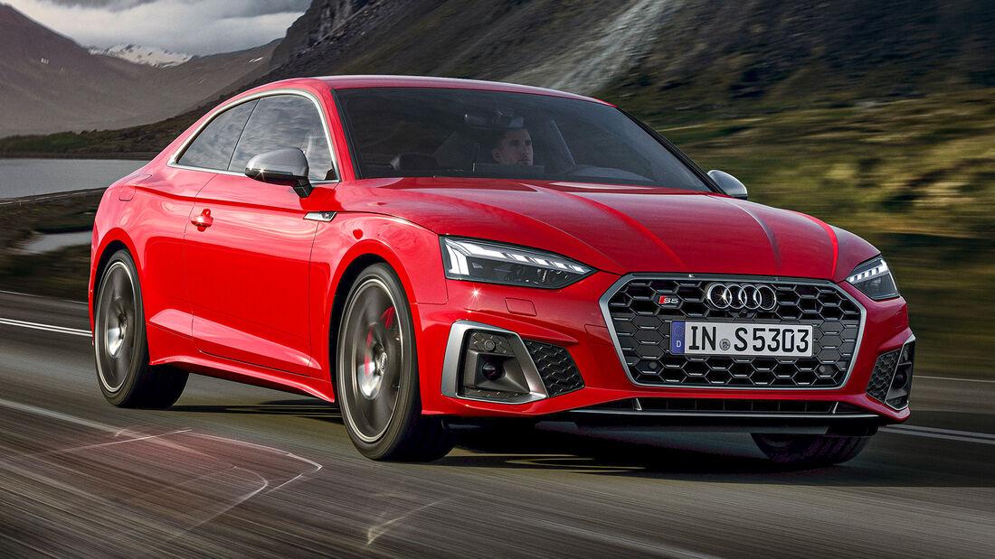 sport auto Award 2021, Audi S5 TDI Quattro, Serie, Diesel