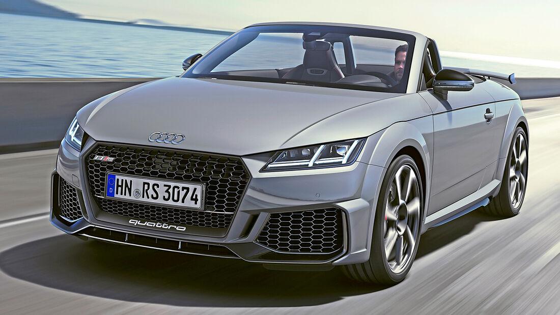 sport auto Award 2021, Audi TT RS Roadster, Serie, Cabrios und Roadster bis 75.000 Euro
