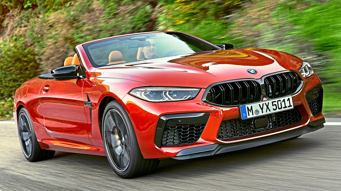 sport auto Award 2021, BMW M8 Cabrio, Serie, Cabrios und Roadster über 150.000 Euro