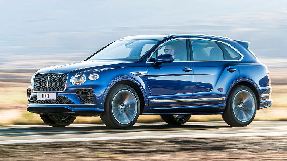 sport auto Award 2021, Bentley Bentayga Speed, Serie, SUV
