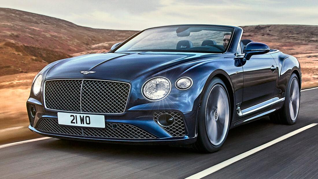 sport auto Award 2021, Bentley Continental GT Speed Convertible, Serie, Cabrios und Roadster über 150.000 Euro