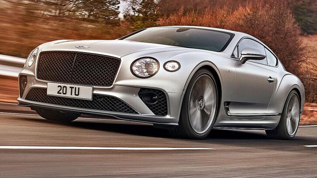 sport auto Award 2021, Bentley Continental GT Speed, Serie, Coupés über 150.000 Euro