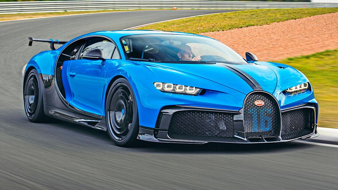 sport auto Award 2021, Bugatti Chiron Pur Sport, Serie, Supersportler