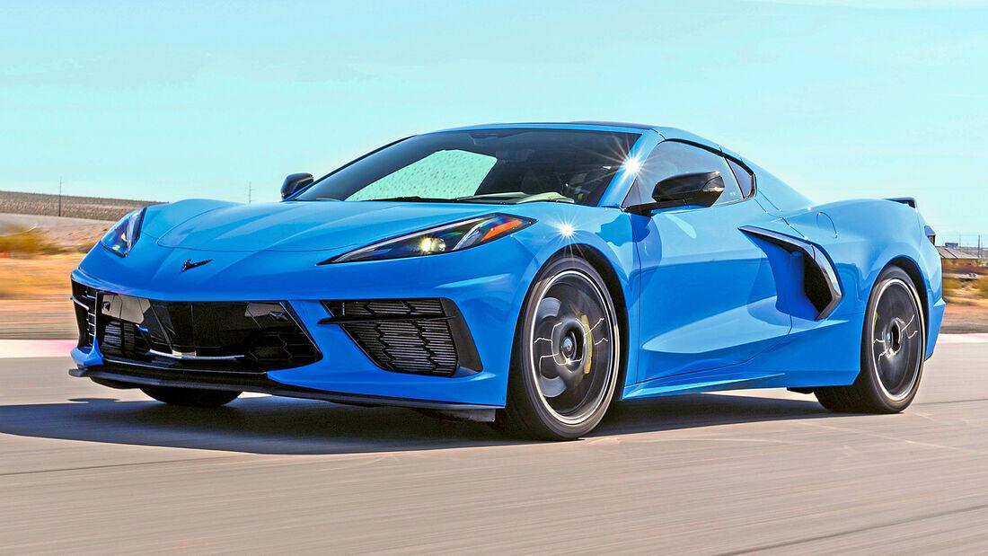 sport auto Award 2021, Chevrolet Corvette Stingray, Serie, Coupés bis 100.000 Euro