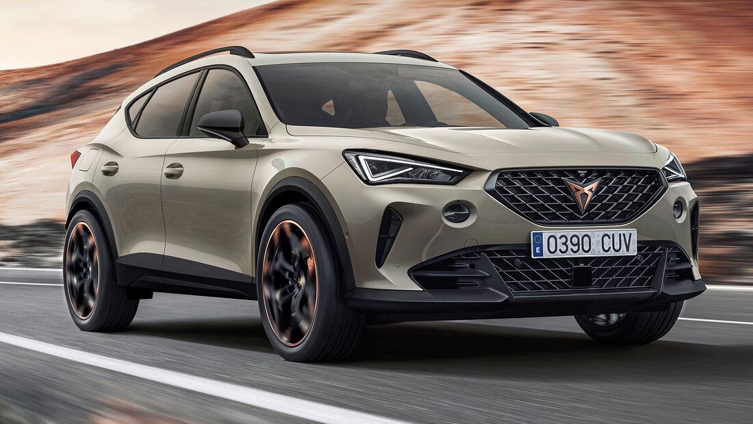 sport auto Award 2021, Cupra Formentor VZ 2.0, Serie, SUV