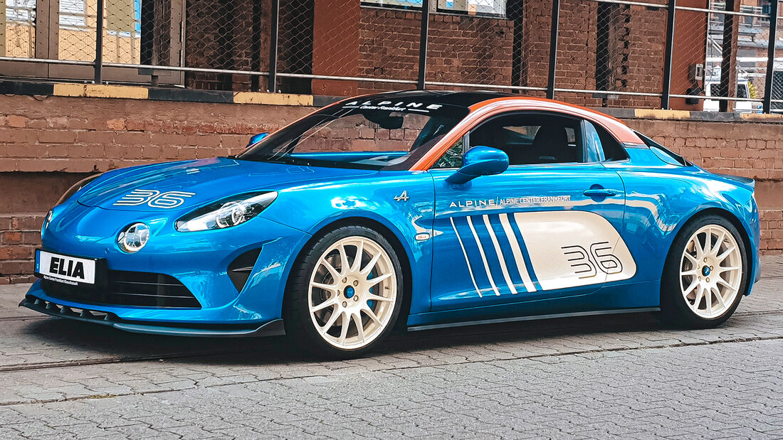 sport auto Award 2021, Elia Tuning-Alpine A 110 S, Tuning, Coupés bis 100.000 Euro