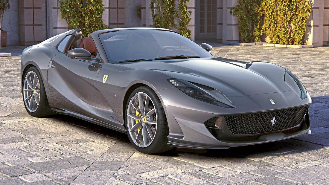 sport auto Award 2021, Ferrari 812 GTS, Serie, Cabrios und Roadster über 150.000 Euro