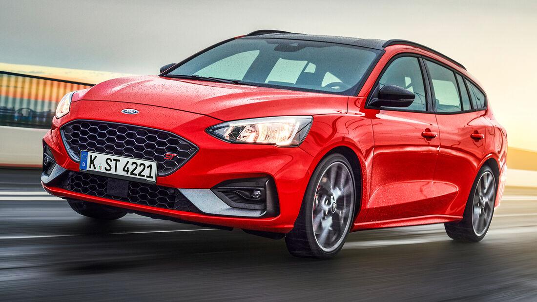 sport auto Award 2021, Ford Focus ST Turnier, Serie, Limousinen und Kombis bis 75.000 Euro