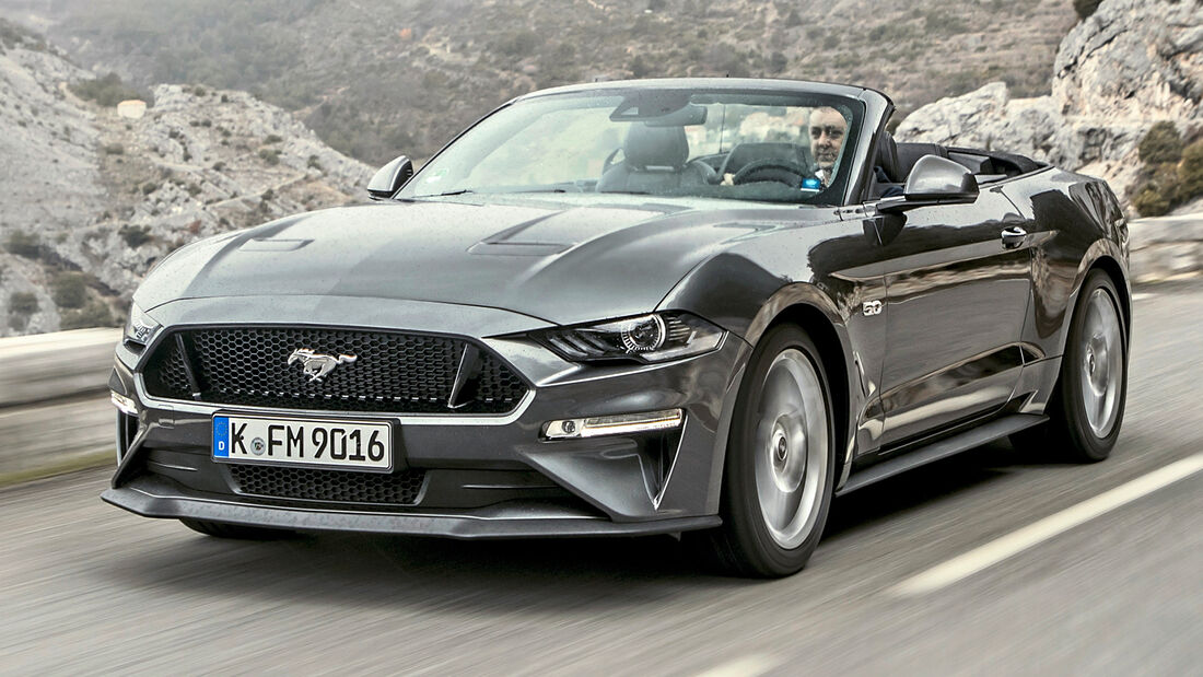 sport auto Award 2021, Ford Mustang GT Convertible, Serie, Cabrios und Roadster bis 75.000 Euro