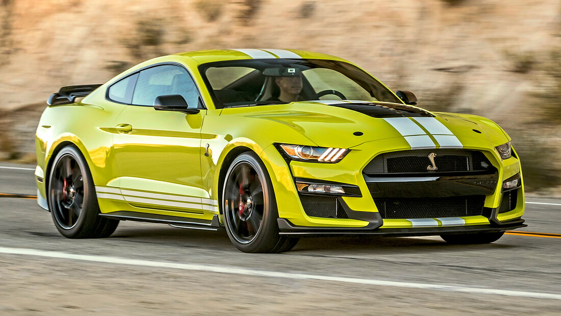 sport auto Award 2021, Ford Mustang Shelby GT500, Serie, Coupés bis 150.000 Euro