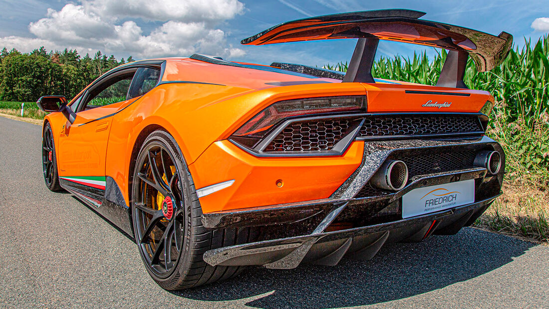 sport auto Award 2021, Friedrich-Lamborghini Huracán Performante, Tuning, Supersportler