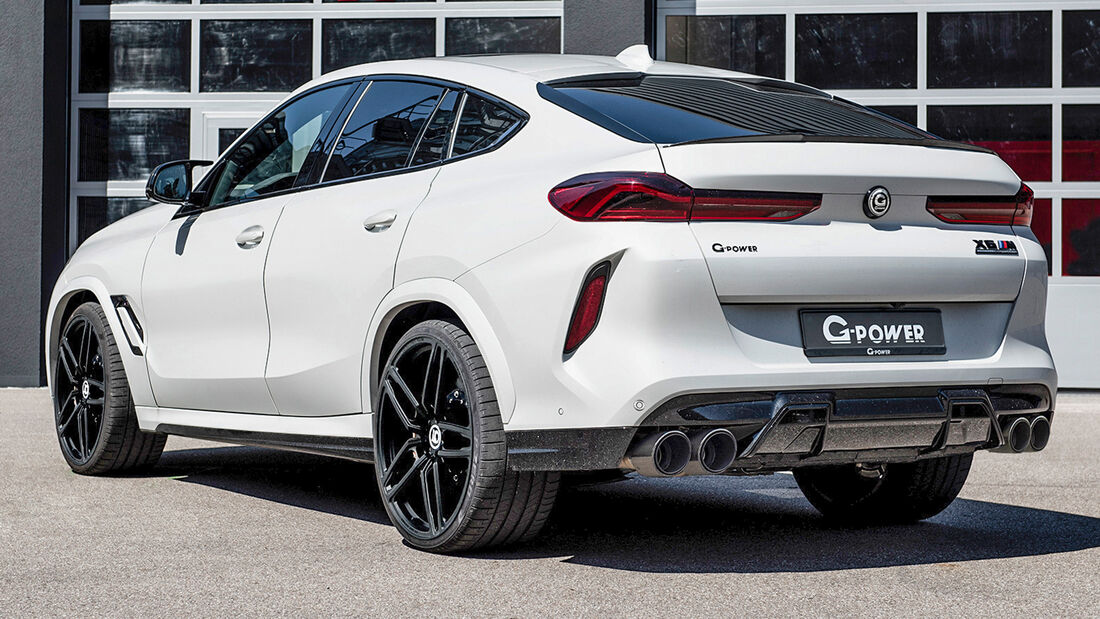 sport auto Award 2021, G-Power-BMW X6 M, Tuning, SUV