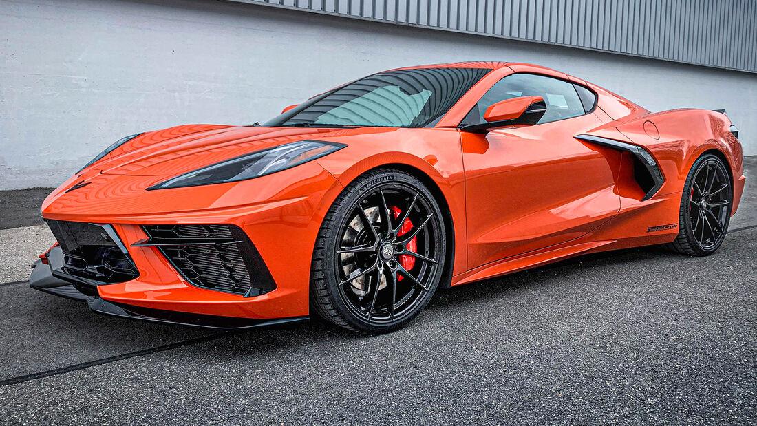 sport auto Award 2021, Geiger-Corvette C8, Tuning, Coupés über 100.000 Euro