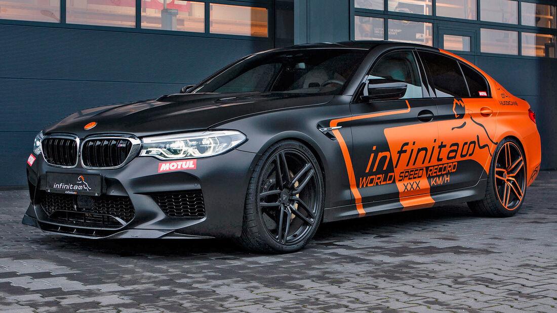 sport auto Award 2021, Infinitas-BMW M5, Tuning, Limousinen und Kombis über 100.000 Euro