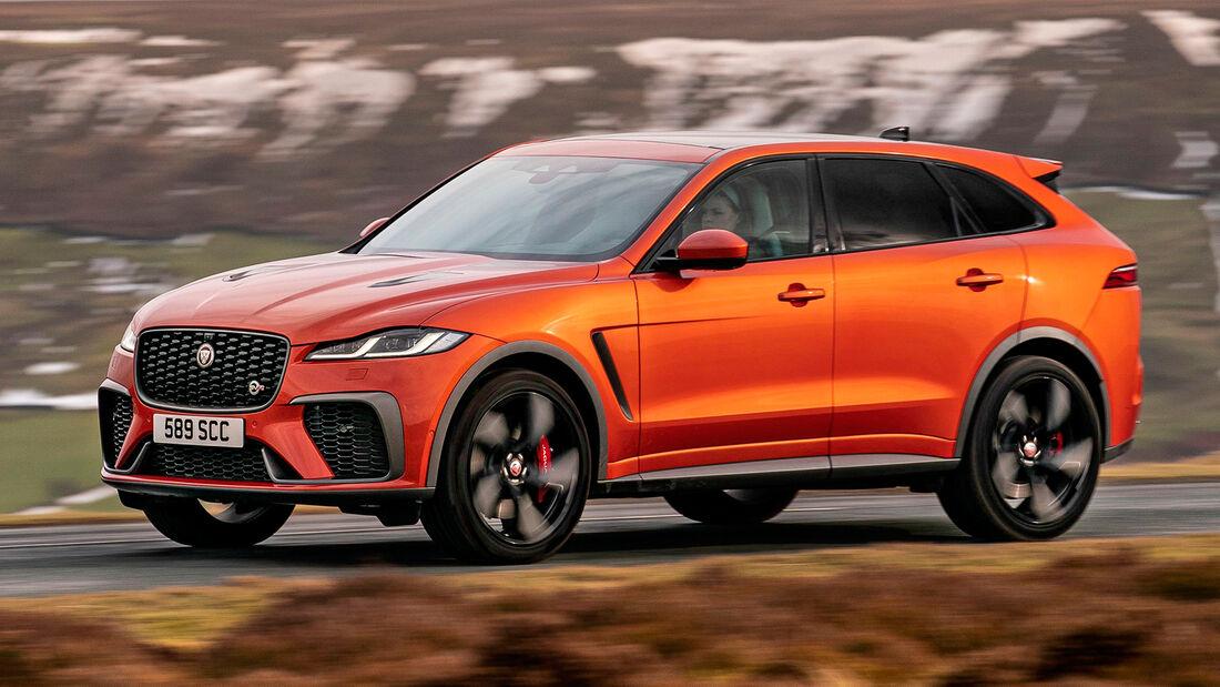 sport auto Award 2021, Jaguar F-Pace SVR, Serie, SUV