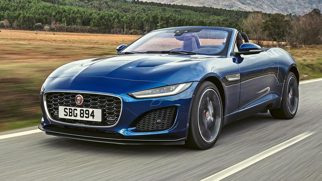 sport auto Award 2021, Jaguar F-Type Cabrio P300, Serie, Cabrios und Roadster bis 75.000 Euro