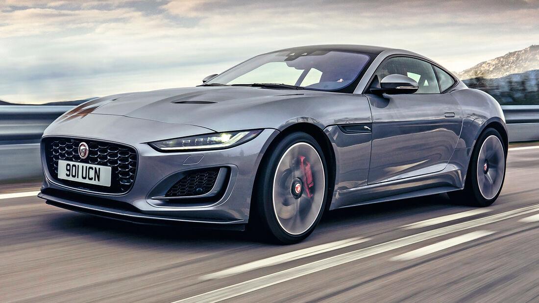 sport auto Award 2021, Jaguar F-Type Coupé P300, Serie, Coupés bis 75.000 Euro