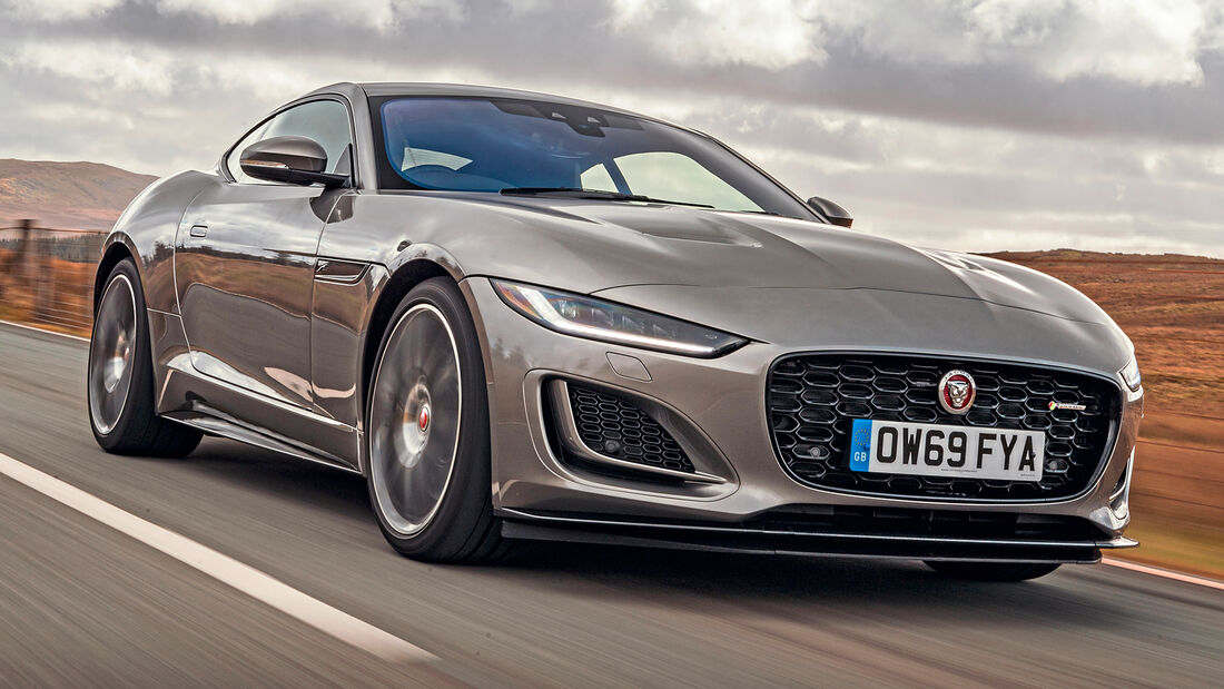 sport auto Award 2021, Jaguar F-Type Coupé P450, Serie, Coupés bis 100.000 Euro