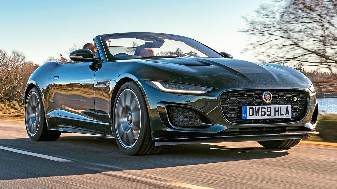 sport auto Award 2021, Jaguar F-Type R Cabrio, Serie, Cabrios und Roadster bis 150.000 Euro