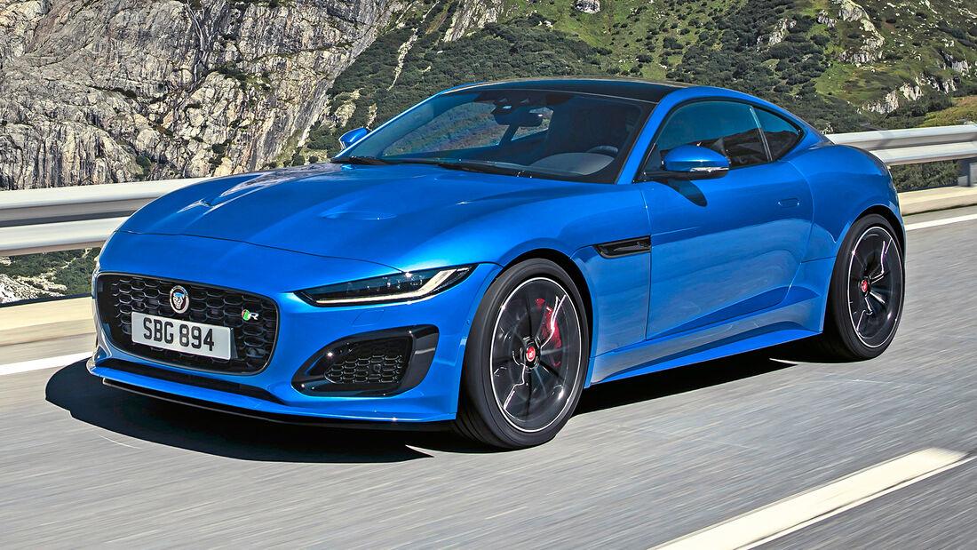 sport auto Award 2021, Jaguar F-Type R, Serie, Coupés bis 150.000 Euro