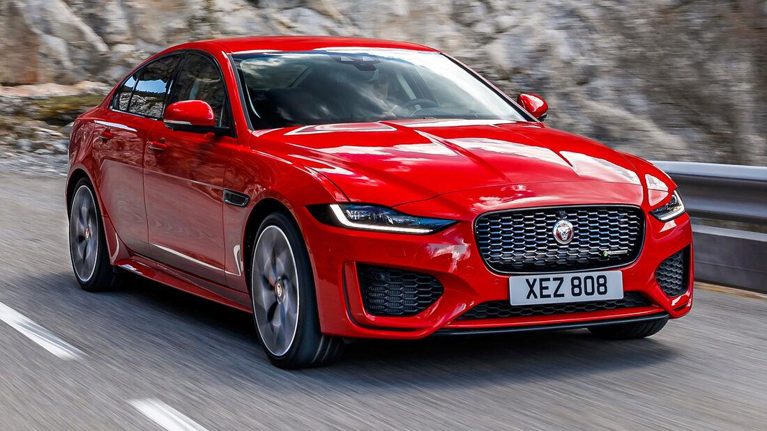 sport auto Award 2021, Jaguar XE P300 AWD, Serie, Limousinen und Kombis bis 75.000 Euro