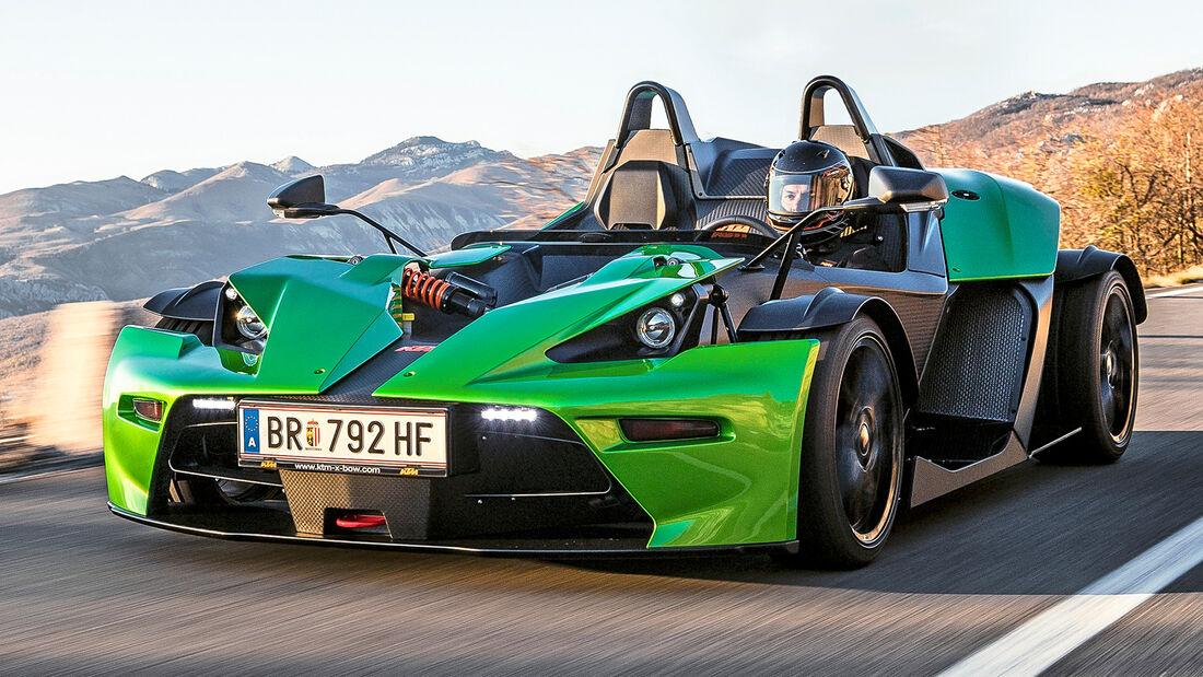 sport auto Award 2021, KTM X-Bow R, Serie, Cabrios und Roadster bis 75.000 Euro