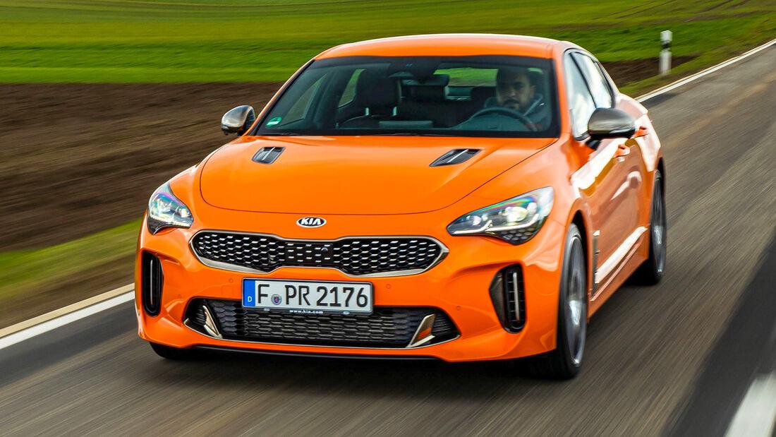 sport auto Award 2021, Kia Stinger 3.3 T-GDI V6, Serie, Limousinen und Kombis bis 75.000 Euro