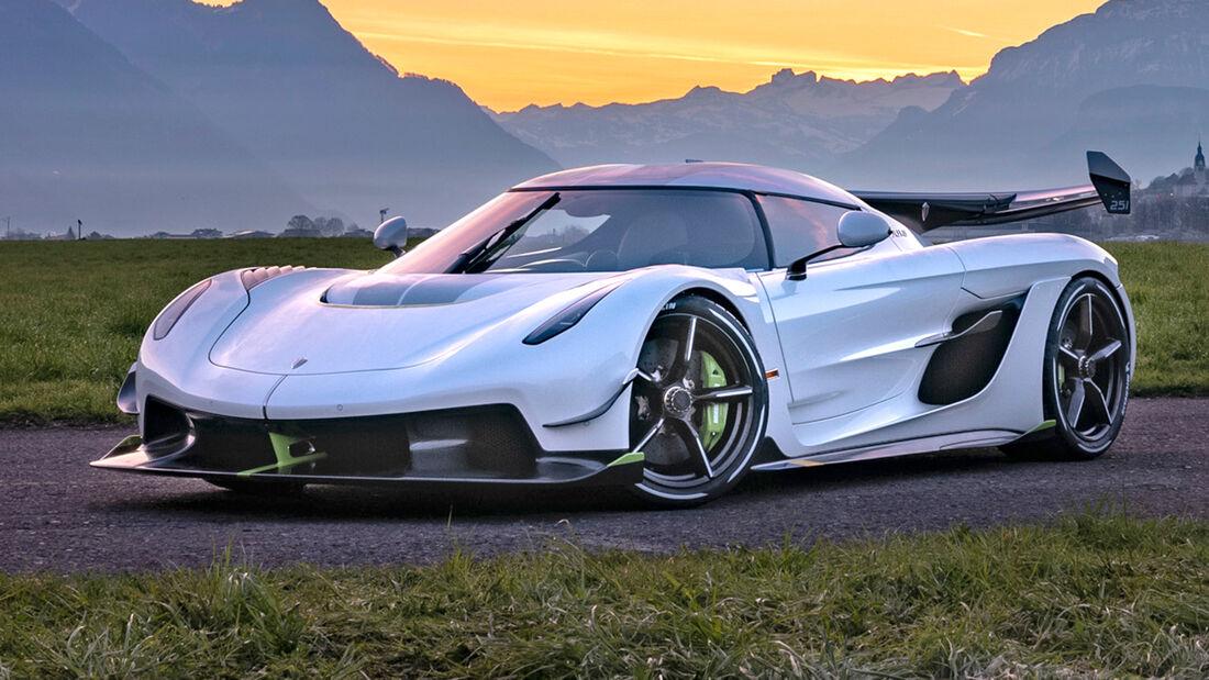 sport auto Award 2021, Koenigsegg Jesko, Serie, Supersportler