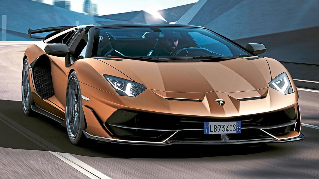 sport auto Award 2021, Lamborghini Avantador SVJ Roadster, Serie, Cabrios und Roadster über 150.000 Euro