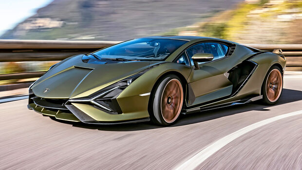 sport auto Award 2021, Lamborghini Sián FKP37, Serie, Supersportler