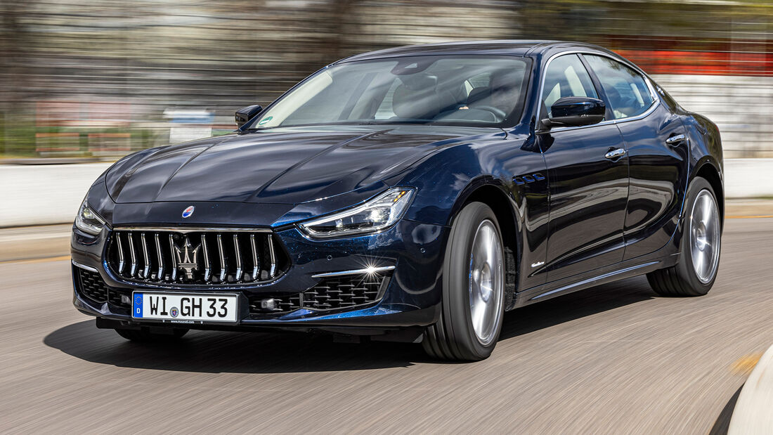 sport auto Award 2021, Maserati Ghibli Hybrid, Serie, Limousinen und Kombis bis 75.000 Euro